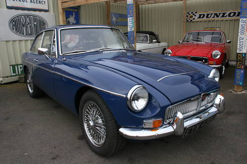 1971 MGC GT University motors with upgrades, FAST ROAD.. SOLD (picture 1 of 4)