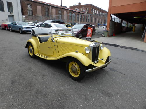 1951 MG TD Complete Car For Restoration - SOLD (picture 1 of 6)