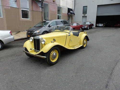 1951 MG TD Complete Car For Restoration - SOLD (picture 3 of 6)