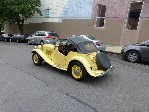 1951 MG TD Complete Car For Restoration - SOLD (picture 4 of 6)