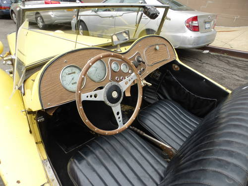 1951 MG TD Complete Car For Restoration - SOLD (picture 5 of 6)