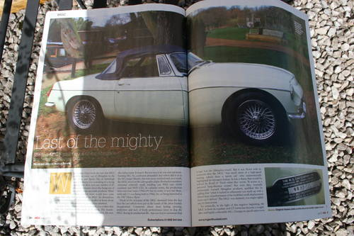 1969 MGC Roadster, the last MGC BUILT, UK car SOLD (picture 5 of 6)