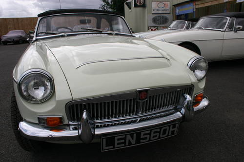 1969 MGC Roadster, the last MGC BUILT, UK car SOLD (picture 6 of 6)