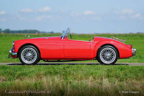 MG MGA 1500 ROADSTER, 1959 - TOP CONDITION For Sale (picture 2 of 6)