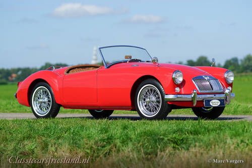 MG MGA 1500 ROADSTER, 1959 - TOP CONDITION For Sale (picture 3 of 6)