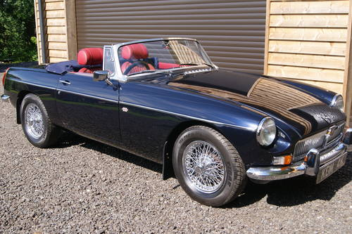 1972 !972 MGB Roadster Rust free  SOLD (picture 4 of 6)