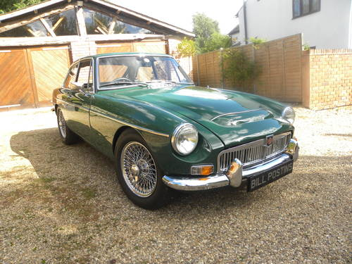 1969 MGC GT Manual / Overdrive. 5 owners from new SOLD (picture 2 of 6)