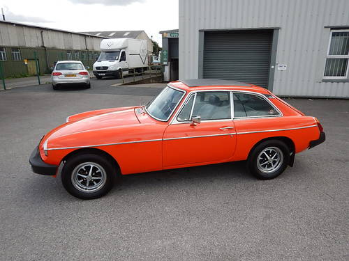 1978 MGB GT ~ Manual with Overdrive ~  SOLD (picture 1 of 6)