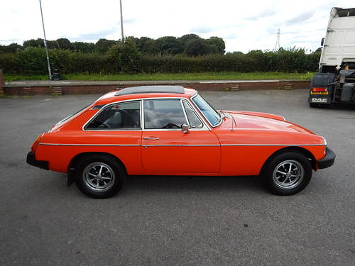 1978 MGB GT ~ Manual with Overdrive ~  SOLD (picture 3 of 6)
