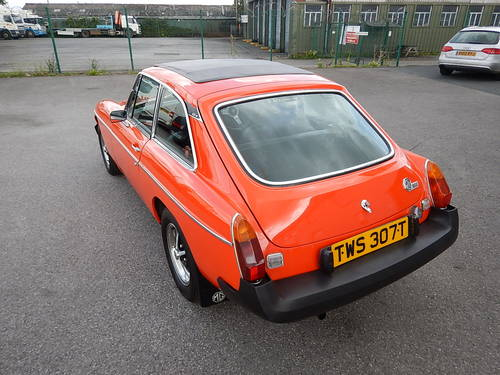 1978 MGB GT ~ Manual with Overdrive ~  SOLD (picture 4 of 6)