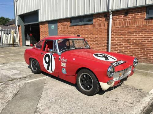 1964 MG Midget 1098 cc FIA Historic Appendix 'K' Racecar SOLD (picture 1 of 6)