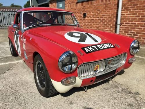 1964 MG Midget 1098 cc FIA Historic Appendix 'K' Racecar SOLD (picture 2 of 6)