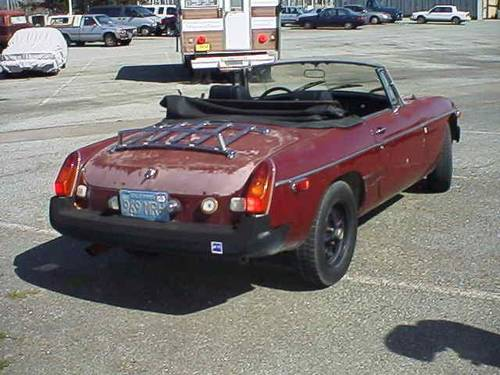 1979 MGB ROADSTER BODY SHELL RUST FREE FROM CALIFORNIA For Sale (picture 2 of 2)