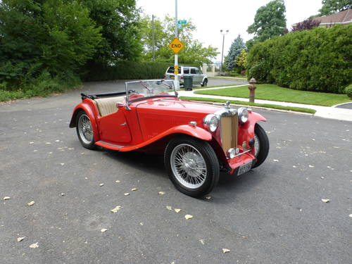 1947 MG TC Nice Driver - SOLD (picture 1 of 6)