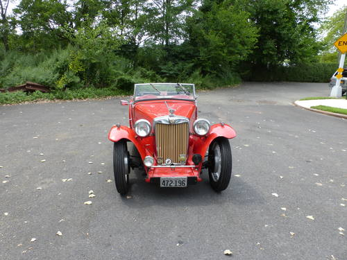 1947 MG TC Nice Driver - SOLD (picture 2 of 6)