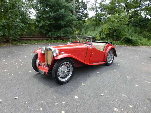 1947 MG TC Nice Driver - SOLD (picture 3 of 6)