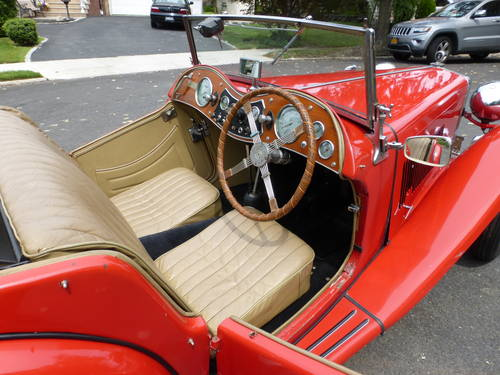 1947 MG TC Nice Driver - SOLD (picture 5 of 6)