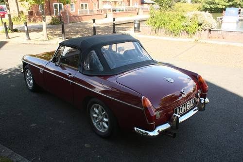 1971 MGB Roadster - Damask Red, RACE SPEC ENGINE SOLD (picture 2 of 6)