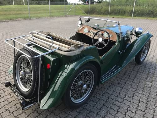 1939 MG TA 1,3 Roadster SOLD (picture 2 of 6)