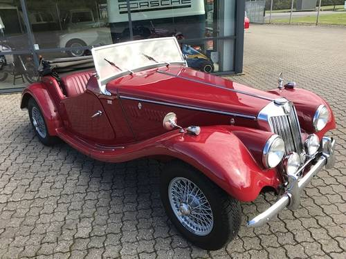 1954 MG TF 1,3 Roadster SOLD (picture 2 of 6)