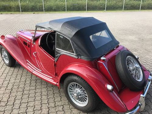 1954 MG TF 1,3 Roadster SOLD (picture 3 of 6)