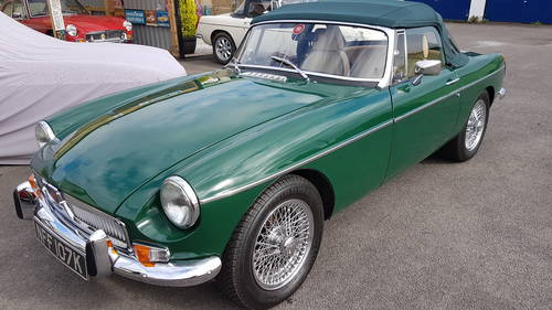 1972 mgb HERITAGE SHELL in BRG SOLD (picture 1 of 4)