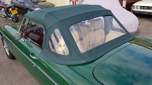 1972 mgb HERITAGE SHELL in BRG SOLD (picture 3 of 4)