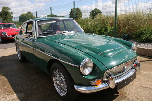 1969 MGC GT Automatic, Original BMC display car SOLD (picture 1 of 6)