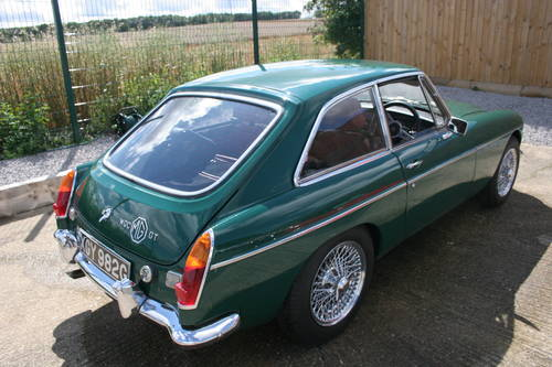 1969 MGC GT Automatic, Original BMC display car SOLD (picture 2 of 6)