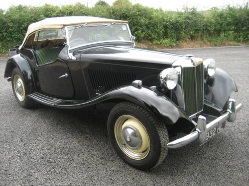 MG TD 1950 SOLD (picture 1 of 6)