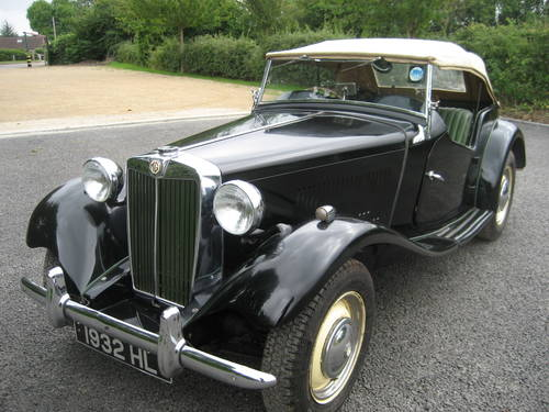 MG TD 1950 SOLD (picture 2 of 6)