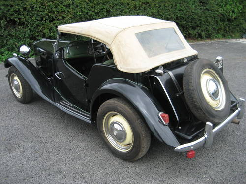 MG TD 1950 SOLD (picture 3 of 6)