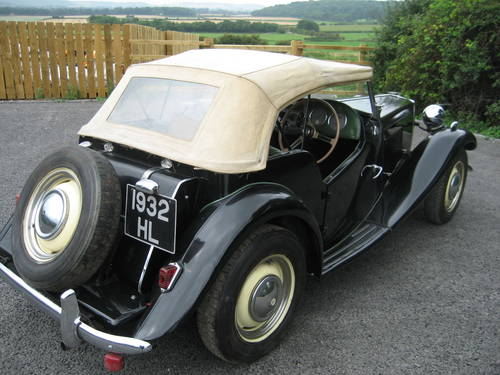 MG TD 1950 SOLD (picture 4 of 6)