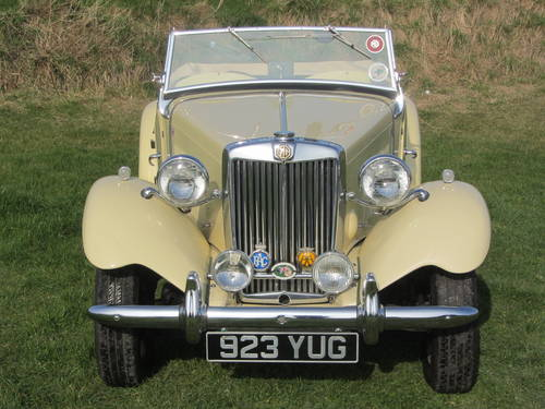 1951 MG TD for sale SOLD (picture 1 of 6)