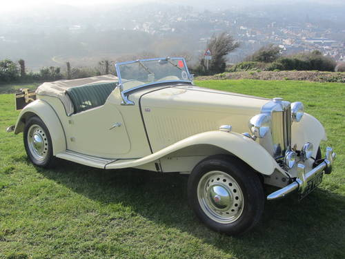 1951 MG TD for sale SOLD (picture 2 of 6)