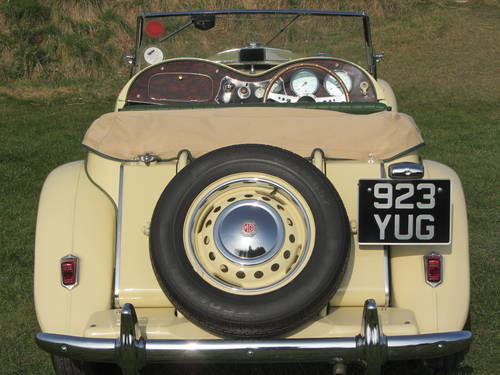 1951 MG TD for sale SOLD (picture 3 of 6)