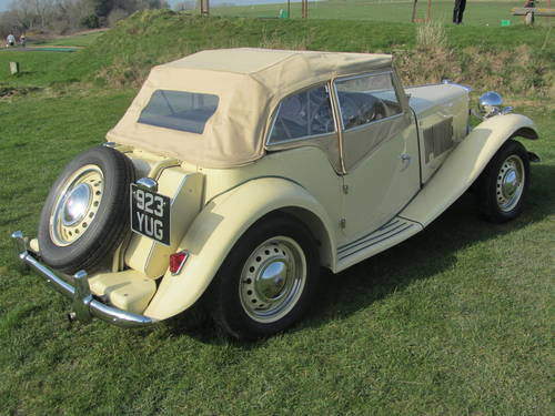 1951 MG TD for sale SOLD (picture 4 of 6)