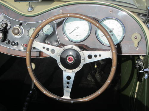 1951 MG TD for sale SOLD (picture 5 of 6)