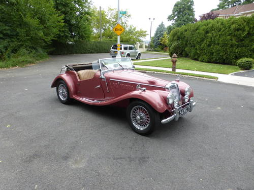 1954 MG TF WITH SUPERCHARGER AND TWO TOPS - SOLD (picture 1 of 6)
