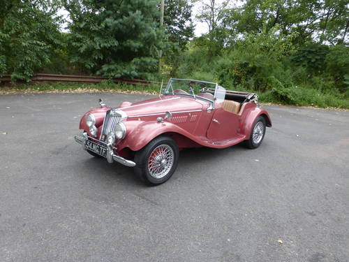1954 MG TF WITH SUPERCHARGER AND TWO TOPS - SOLD (picture 3 of 6)