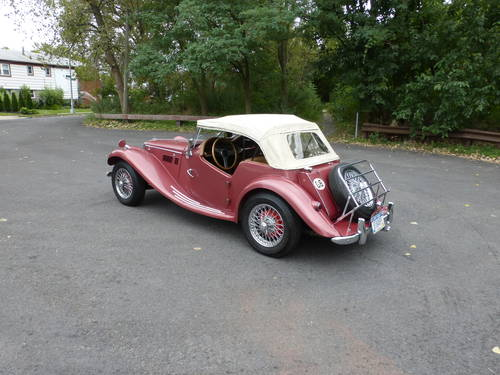 1954 MG TF WITH SUPERCHARGER AND TWO TOPS - SOLD (picture 4 of 6)