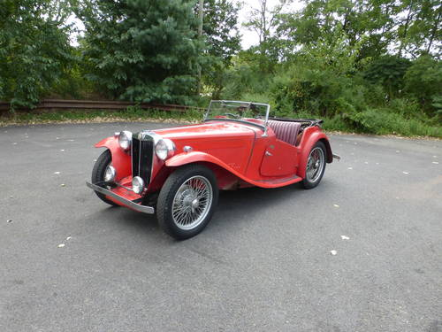 1948 MG TC RED A GOOD DRIVER - SOLD (picture 3 of 6)