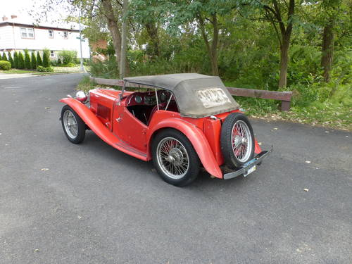 1948 MG TC RED A GOOD DRIVER - SOLD (picture 4 of 6)