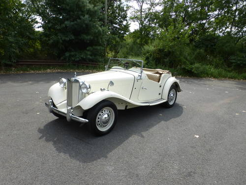 1951 MG TD A Nicely Presentable  Driver - SOLD (picture 3 of 6)
