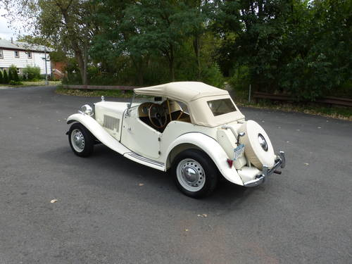 1951 MG TD A Nicely Presentable  Driver - SOLD (picture 4 of 6)