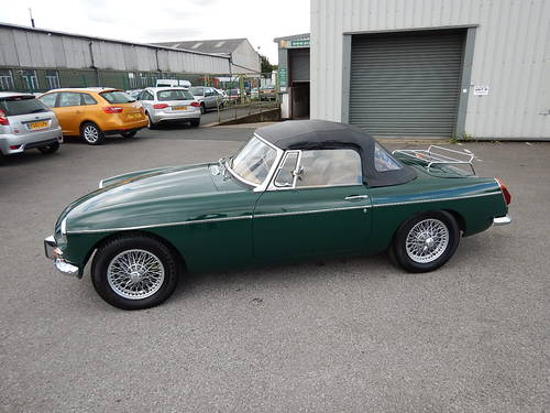 1972 MGB Roadster with Tan Leather  SOLD (picture 1 of 6)
