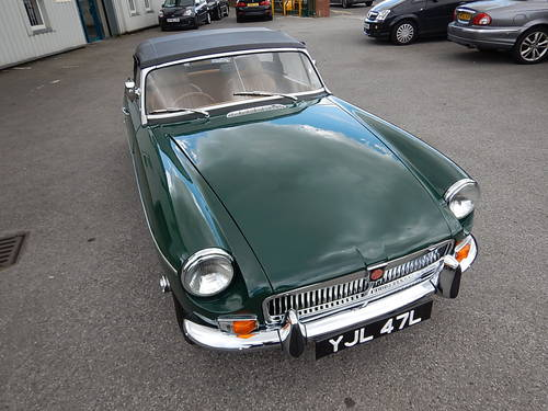 1972 MGB Roadster with Tan Leather  SOLD (picture 2 of 6)