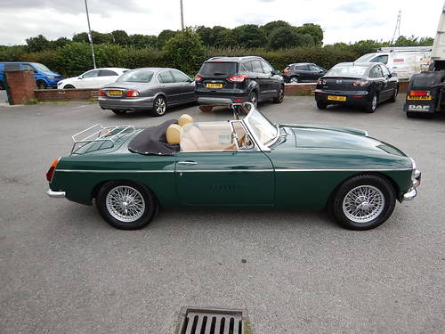 1972 MGB Roadster with Tan Leather  SOLD (picture 3 of 6)