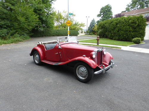 1953 MG TD Good Mechanics - SOLD (picture 1 of 6)