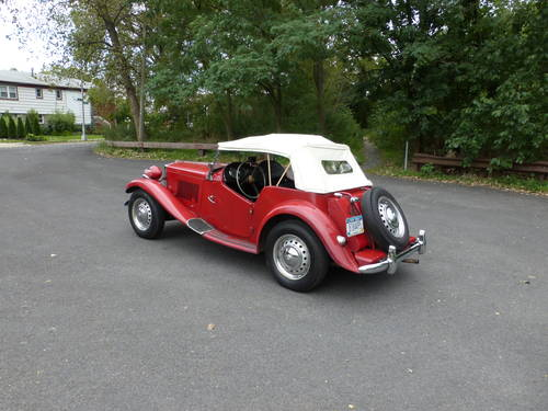 1953 MG TD Good Mechanics - SOLD (picture 4 of 6)